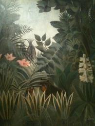 Equatorial jungle_Henri Rousseau